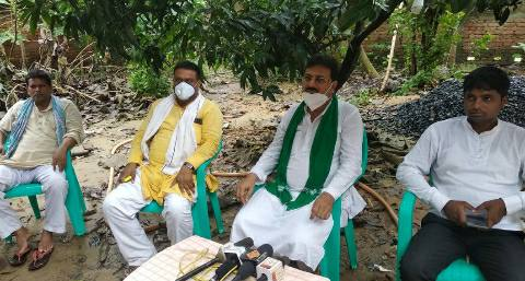 जगदीशपुर का मुख्यपार्षद आर्थिक अपराध का मास्टरमाइंड है-भोला खां