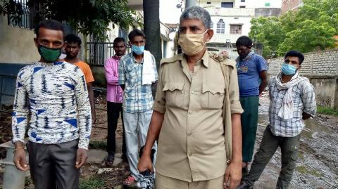भोजपुर में व्रजपात से अररिया के मजदूर की मौत