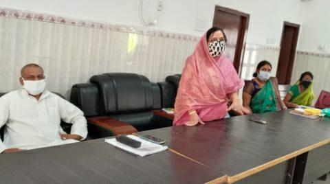 भोजपुर जदयू महिला प्रकोष्ठ की हुई बैठक