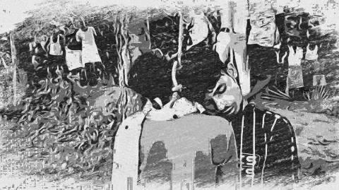 भोजपुर में पेड़ से लटका मिला युवक व युवती का शव