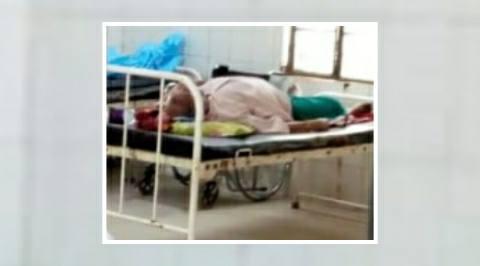 आरा सदर अस्पताल में कोरोना मरीज को छोड़ भागे परिजन-हड़कंप मचा