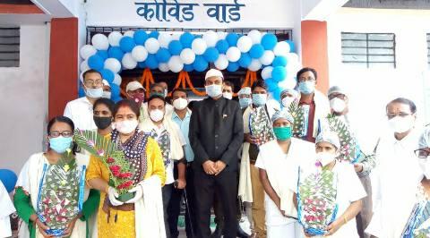 Covid-19-ward-DM-bhojpur-inaugurated