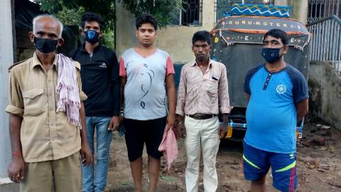 भोजपुर में करंट की चपेट में आने से बच्ची की मौत