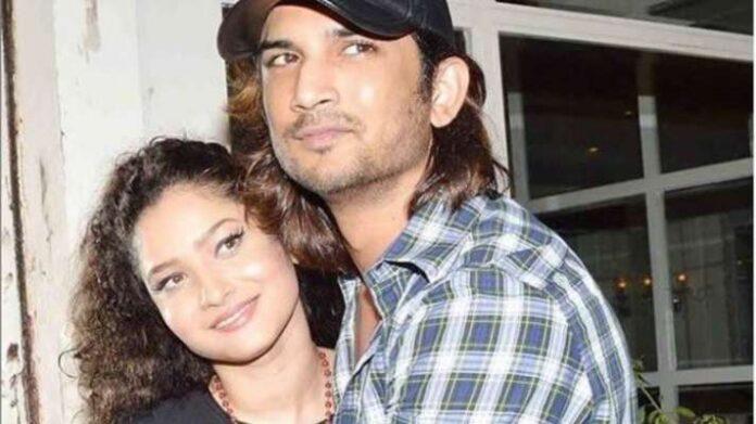 Sushant with Ankita