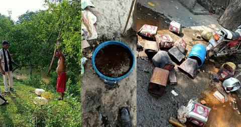 On-liquor-ara-town-to-bhojpur-villages-bihar