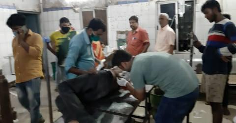 Majhauaa-Airport-shot-young-man-injured-Hospital