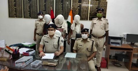 Sandesh-Pawana-sp-Bhojpur-criminal-arrested