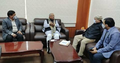 East Central Railway General Manager met Deputy CM