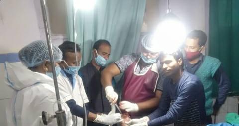 Pandeypur-injured-dr-mahavir.jpg