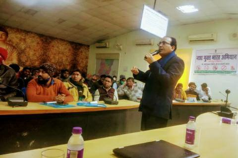 Master Trainers - One day training for drug-free India campaign