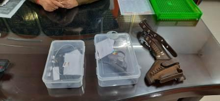 Barap-Accused of robbery case arrested with weapon and bullet
