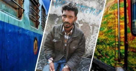 Chandigarh to Patna train - Youth victim of intoxicating gang