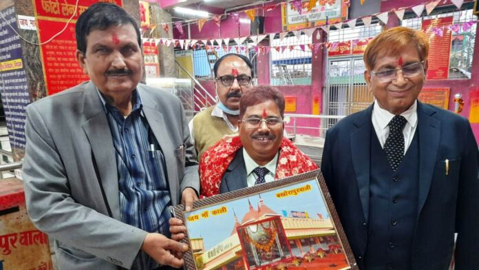 Dr. KN Sinha, well-known physician of Ara city honored