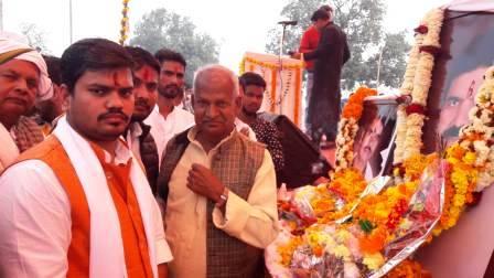 क्षेत्र की जनता का प्यार मेरे लिए प्रेरणा:-राकेश ओझा