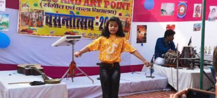 Music and Art Point with a pompous spring festival