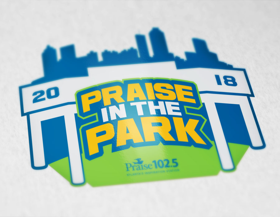 Praise In The Park 2018 Logo Concept