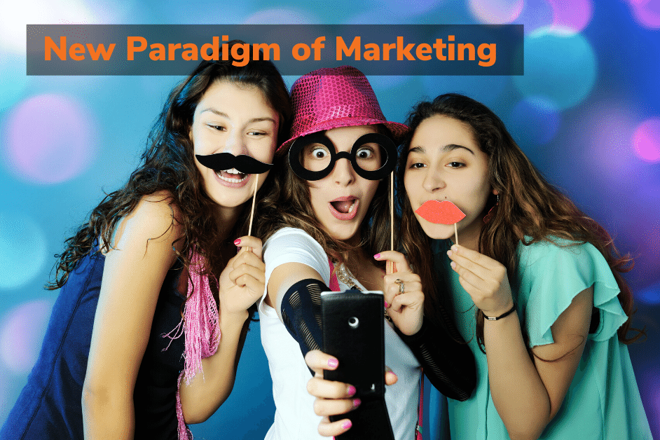The customer is the brand. 'Me' is the new paradigm of marketing.