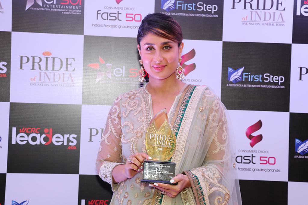 Kareena Kapoor, Pride of India