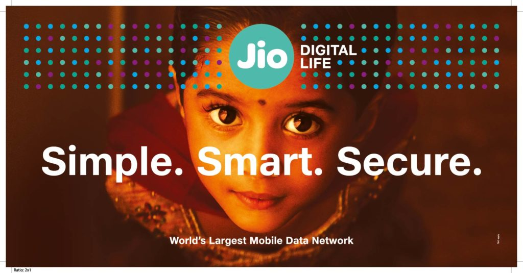 World Class Delivery to Indian Consumers: Reliance JIO