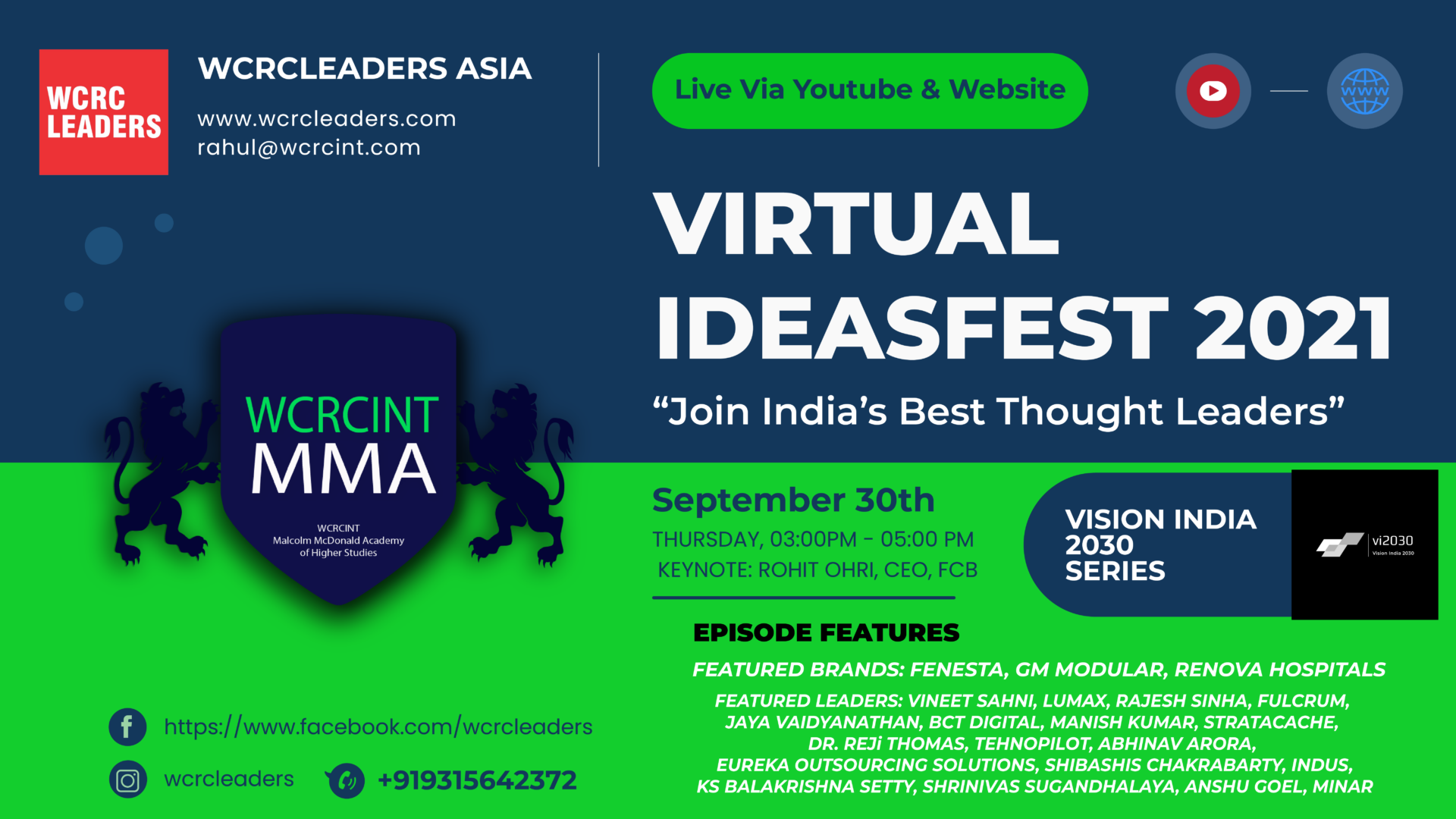 Poster VI 2030 Ideasfest