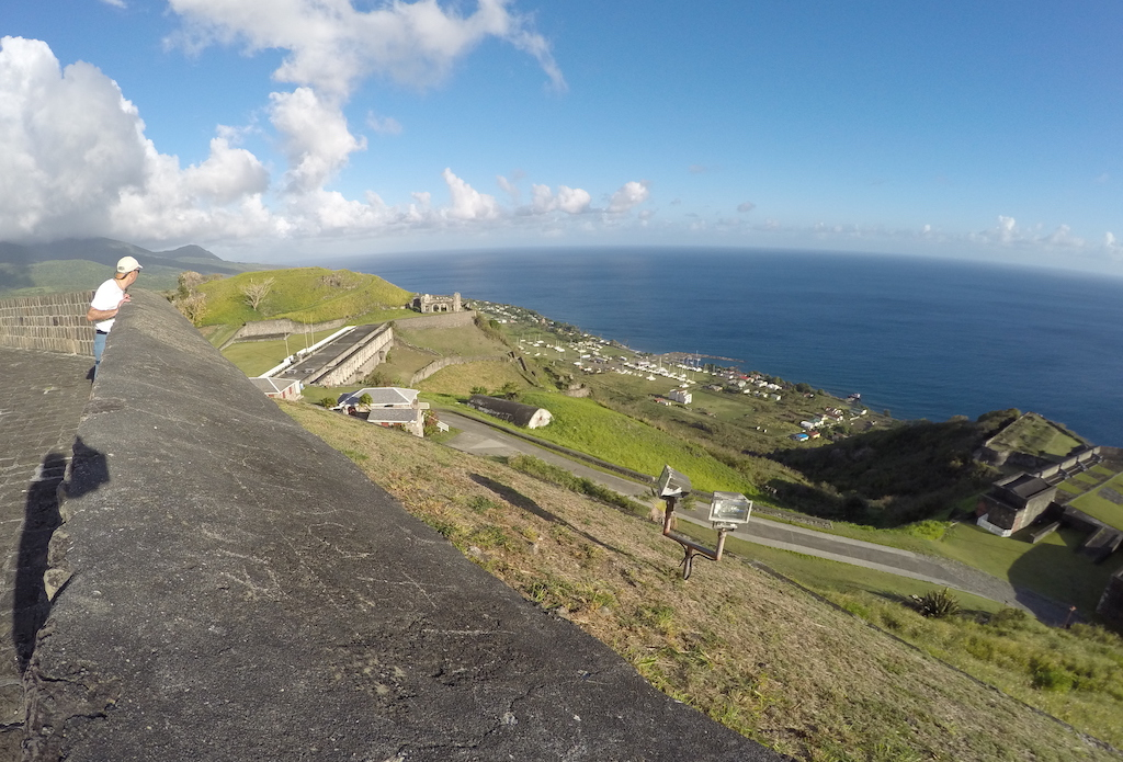 Brimstone Hill Fortress, St Kitts. Credit Rachel Huber