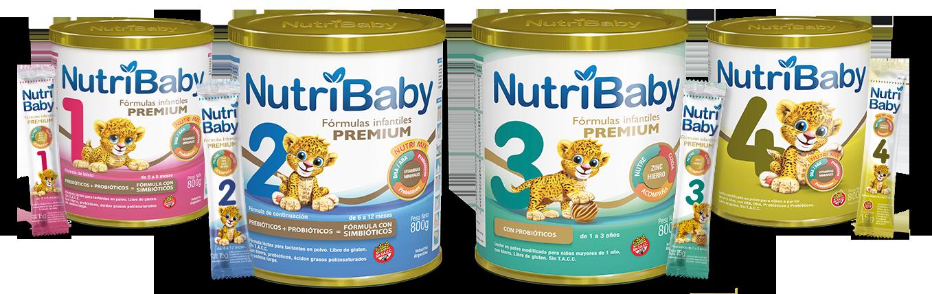 nutribaby fórmulas infantiles