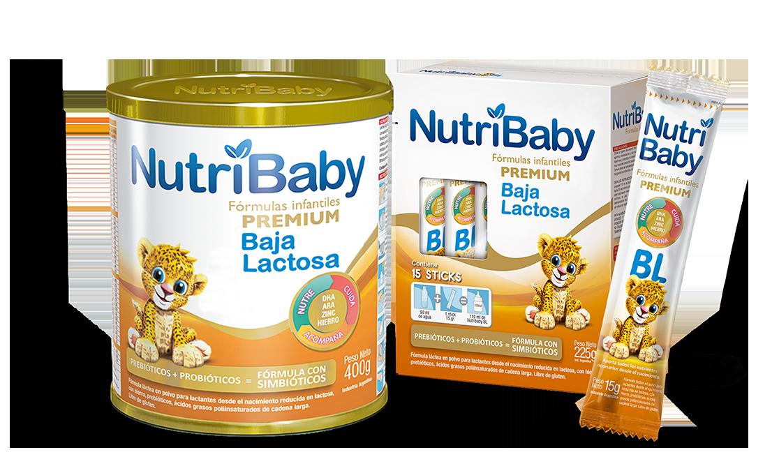 nutribaby fórmulas especiales Baja Lactosa