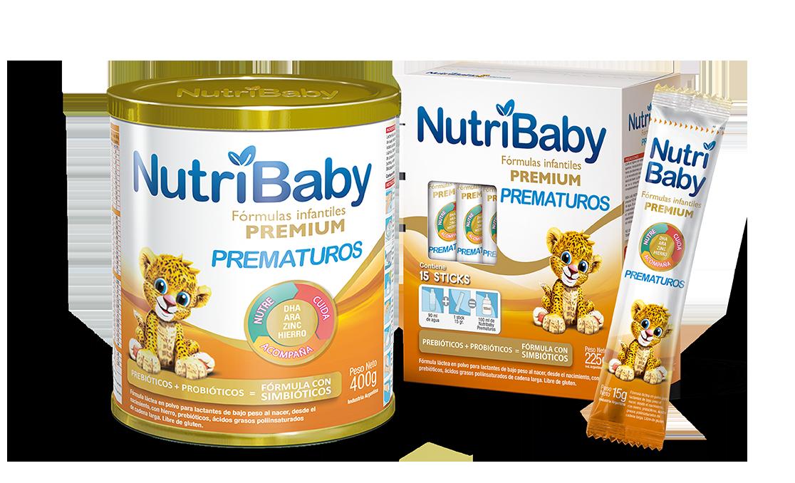 nutribaby fórmulas especiales Prematuros