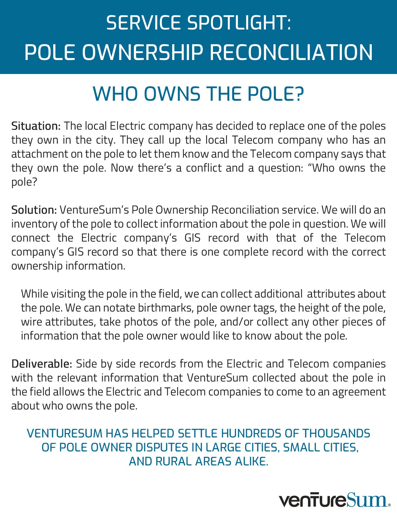 Service Spotlight: Pole Owner Reconciliation – Who Owns The Pole?
