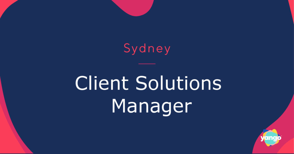 Client Solutions Manager