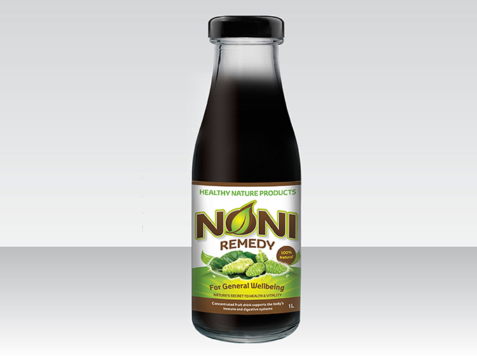 <b>Noni Remedy Juice</b><br>Concentrated fruit drink<br>1L