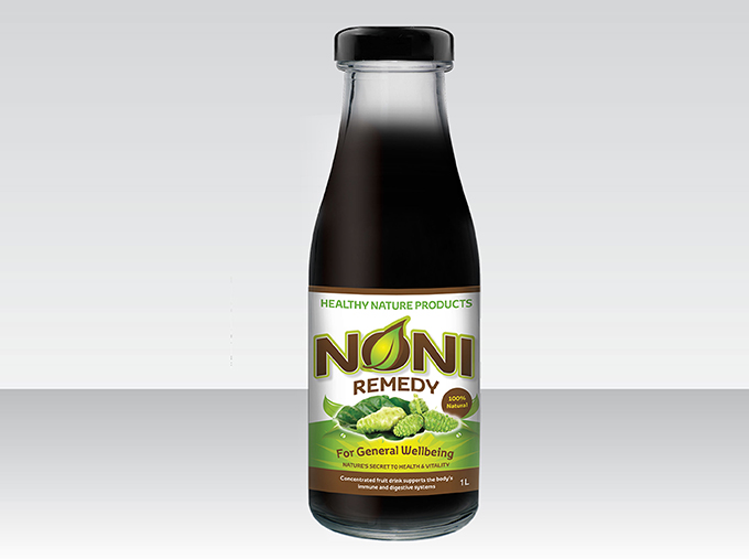 <b>Noni Remedy Juice</b><br>Concentrated fruit drink<br>750mL