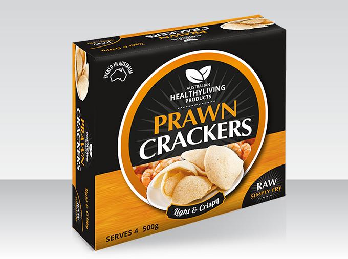 <b>RAW Prawn Crackers</b><br>Light & Crispy<br>500g