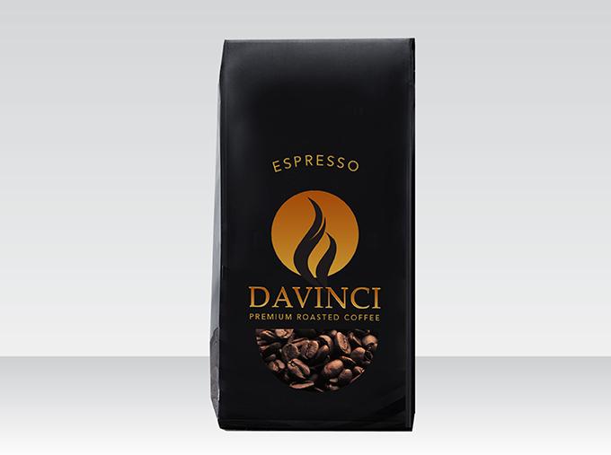 <b>DaVinci Premium Coffee</b><br>Roasted Beans & Powder 500g