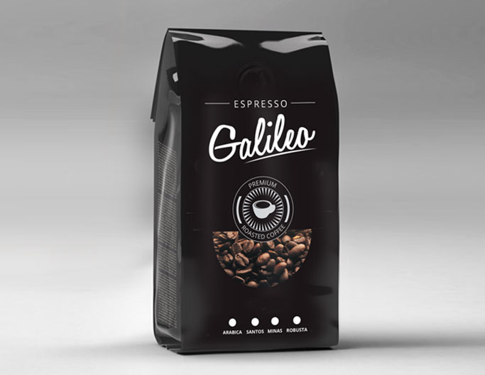 <b>Galileo Premium Coffee</b><br>Roasted Beans 2kg
