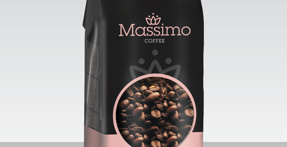 <b>Massimo Premium Coffee</b><br>Roasted Beans 2kg