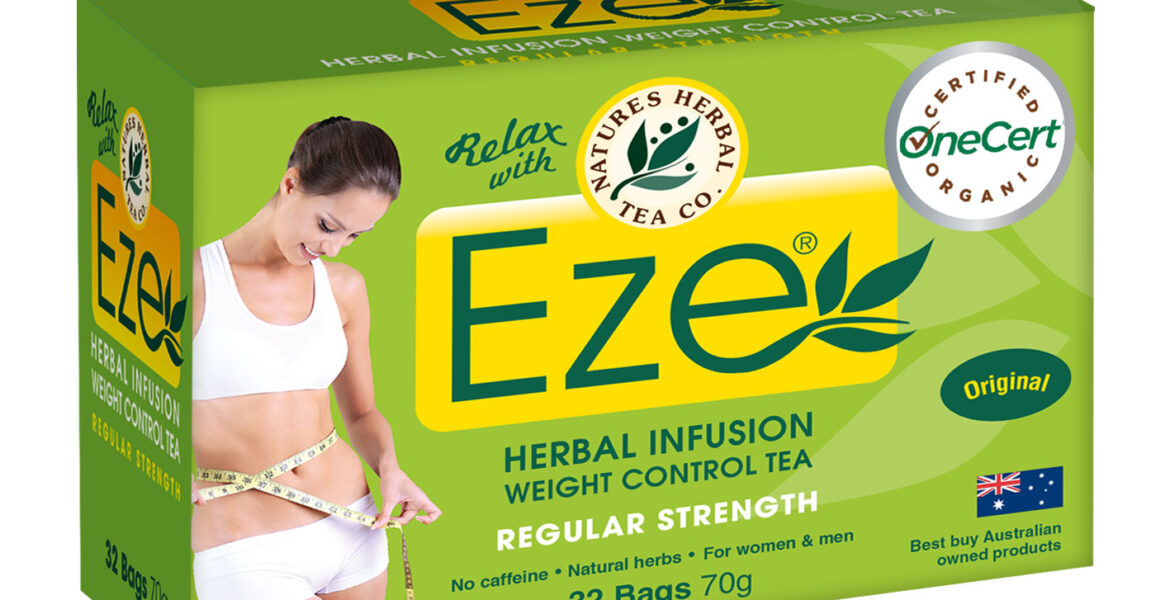 <b>Eze</b><br>Organic <br> Weight Control Herbal Tea <br> 32 Bags