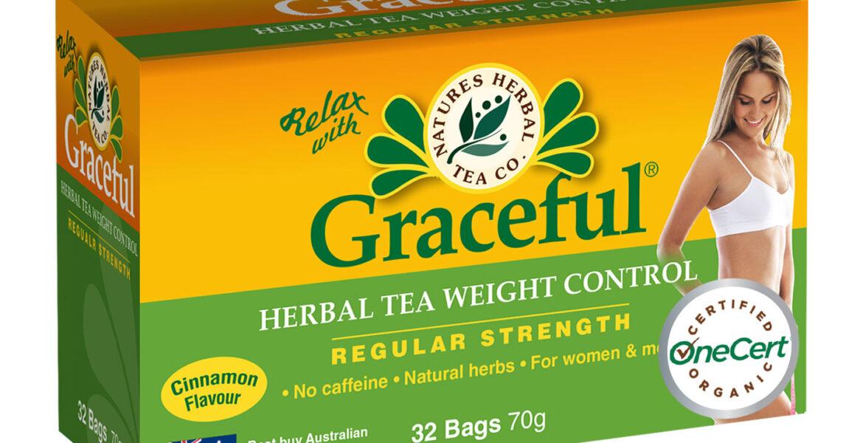 <b>Graceful</b><br>Organic <br> Weight Control Herbal Tea <br> 32 Bags
