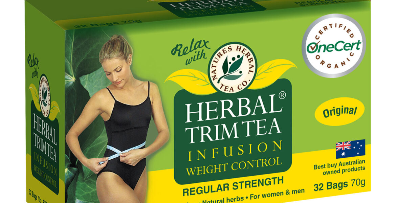 <b>HerbalTrim</b><br>Organic <br> Weight Control Herbal Tea <br> 32 Bags