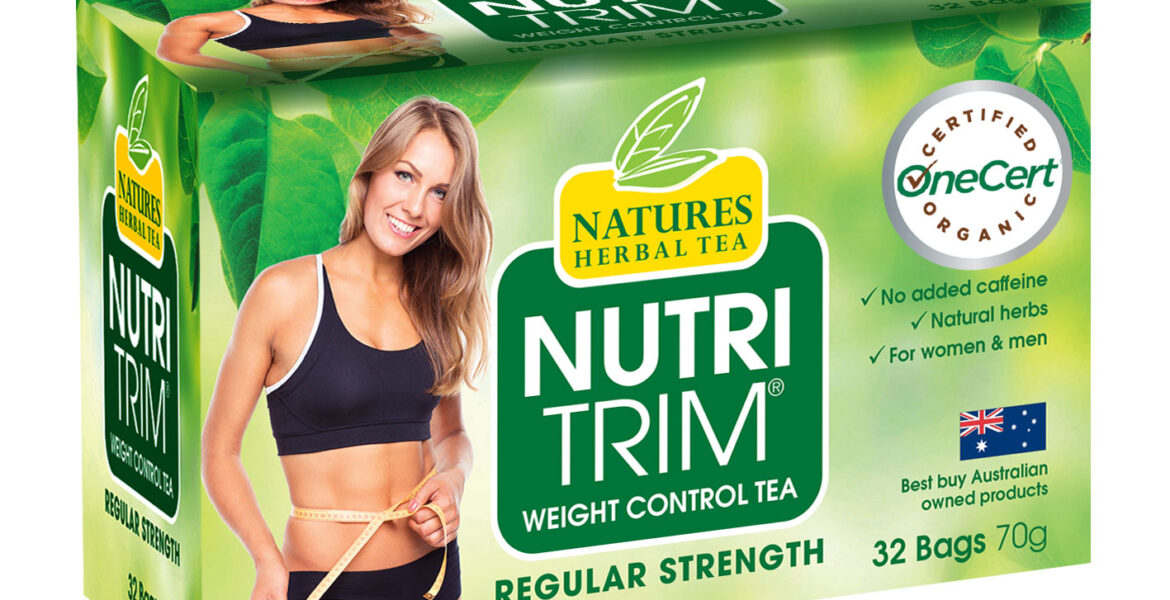 <b>NutriTrim</b><br>Organic <br> Weight Control Herbal Tea <br> 32 Bags