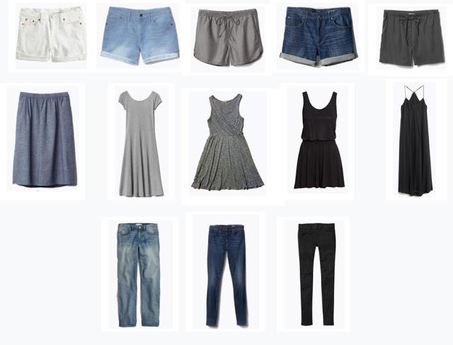 Karin Rambo of truncationblog.com shares her summer 2015 capsule wardrobe