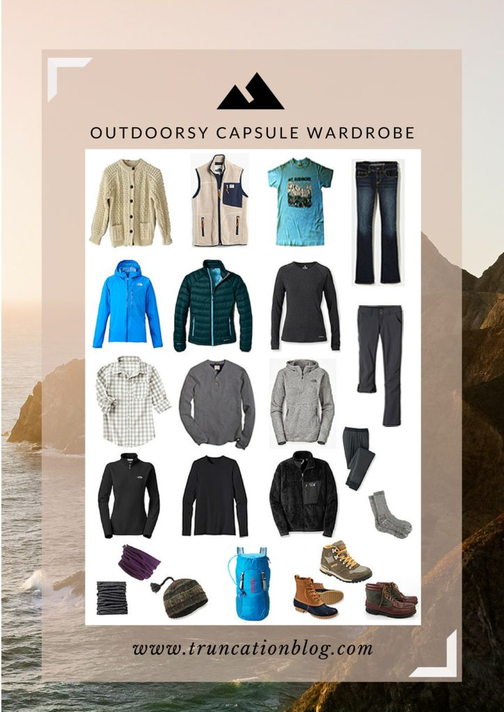 Outdoorsy Capsule Wardrobe