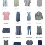 Karin Rambo of truncationblog.com shares 2017 Summer Capsule Wardrobe