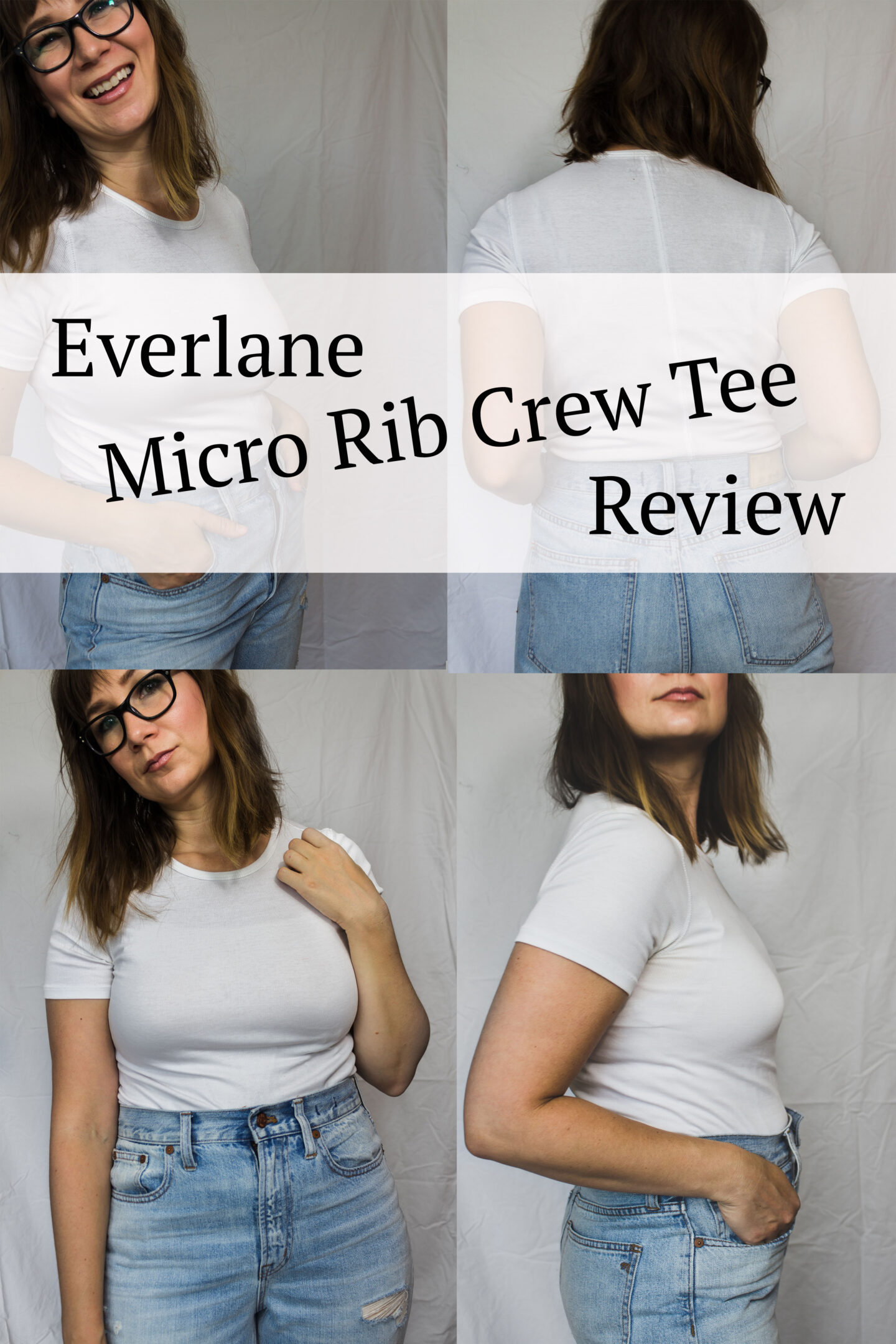 Everlane Micro Rib Crew Tee Review: Includes Video
