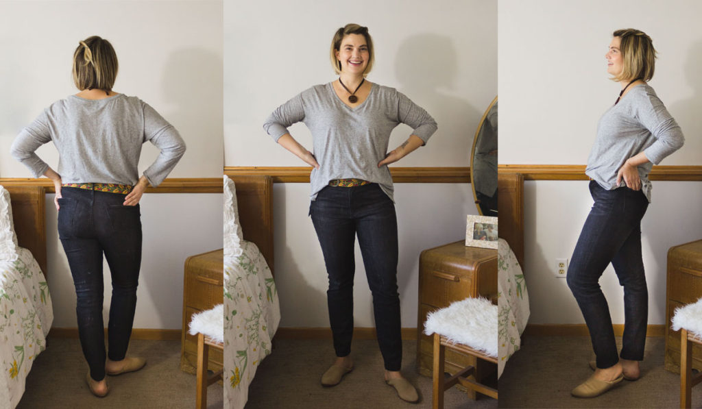 FashionABLE Jean Review the High Rise Ethical Denim