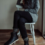What I Wore Last Week + Ethical Rain Boots