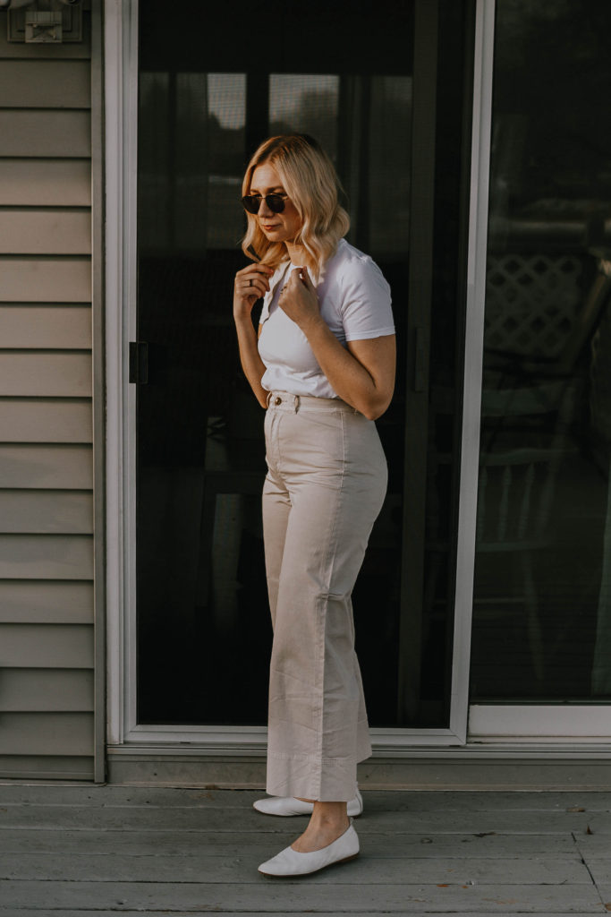 Everlane Review: the Wide Leg Chino