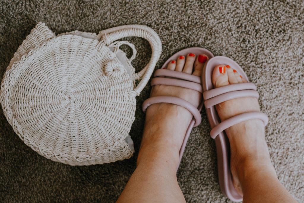 Everlane Sandal Comparison: tube strap sandals