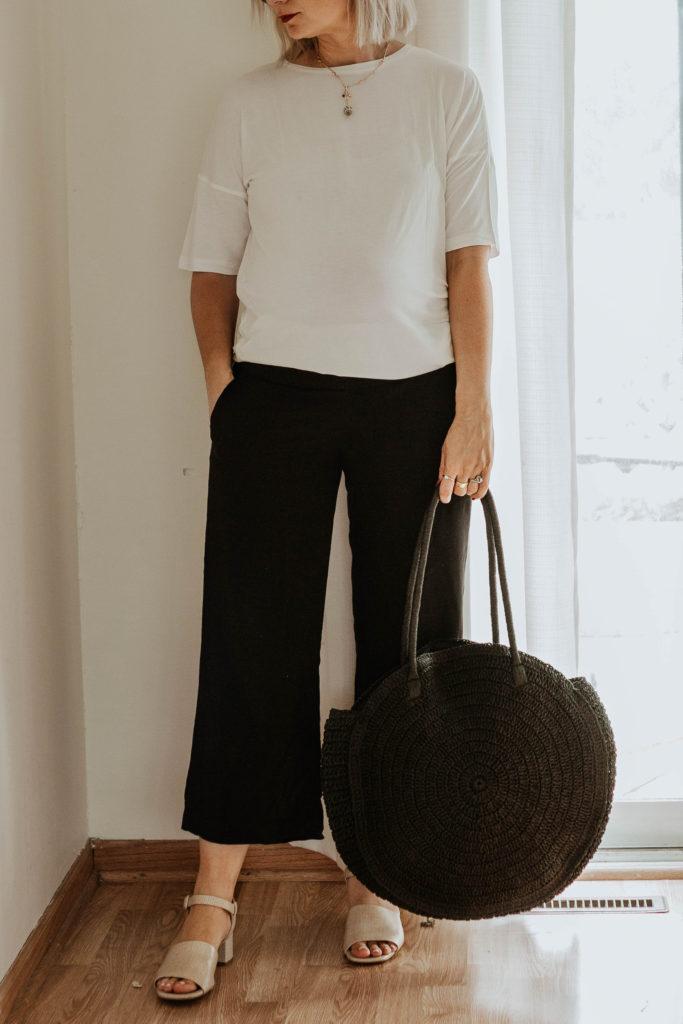 30 Days of Summer Style: Black Circle Bag