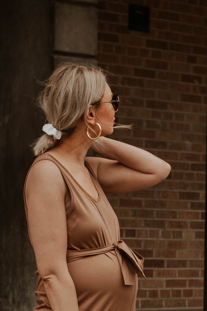 30 Days of Summer Style Day 15: Everlane Luxe Cotton Jumpsuit